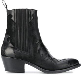Sartore pull-on Texan boots