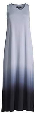 Lafayette 148 New York Women's Ross Ombre Long Shift Dress