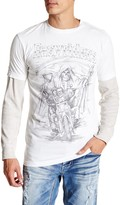 Affliction Easyriders Father Time Short Sleeve Tee