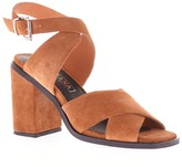Sole Society Whitney Heel Suede Heeled Sandal