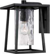 Quoizel Lodge Single-Light Wall Lantern in Mystic Black