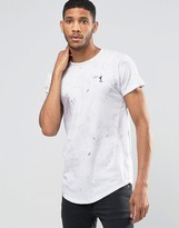 Religion Shador Curved Hem T-Shirt