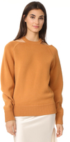 Jason Wu Cashmere Sweater with Cutouts