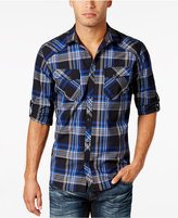 INC International Concepts Men's Arlington Plaid Shirt, Only at Macy's