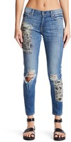 Genetic Los Angeles Parker Distressed Print Skinny Jeans