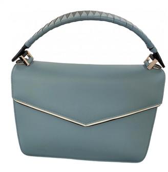 Les Petits Joueurs Blue Leather Handbags
