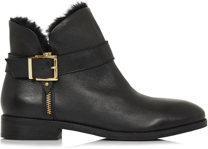 3822ec8368a Long Tall Sally LTS Abigail Leather Ankle Boot