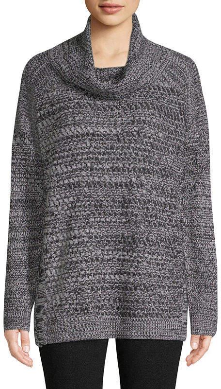 6e4c2084a ST. JOHN S BAY Black Petite Sweaters on Sale - ShopStyle
