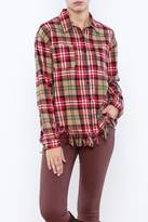 Moon River Frayed Bottom Flannel