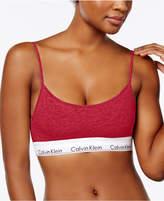 Calvin Klein Modern Cotton Adjustable Strap Bralette QF1730