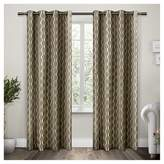 Exclusive Home Trellis Curtain Panels - Set of 2 Panels