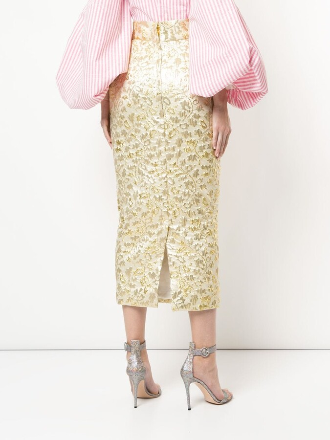 Thumbnail for your product : Bambah Sona pencil skirt