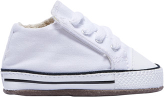 Converse Crib Basketball Shoes - White / Natural Ivory