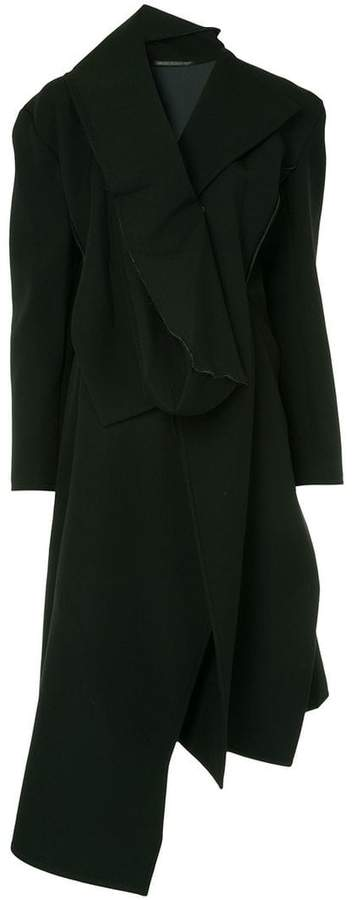 Yohji Yamamoto asymmetric long coat