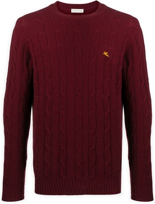 Etro Cable Knit Jumper