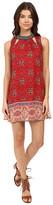Brigitte Bailey Diya Sleeveless Dress with Neckine Beading