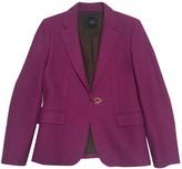 Fay Purple Wool Jacket for Women