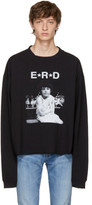 Enfants Riches Deprimes Black Long Sleeve Star Logo T-shirt