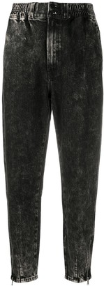 J Brand Mid-Rise Tapered Jeans
