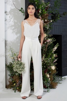 French Connenction Amato Bridal Tux Wedding Suit Trousers