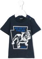 Diesel Tripib T-shirt - kids - Cotton - 12 mth