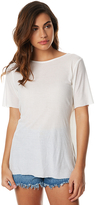 Cheap Monday Heir Womens Oversized Tee White