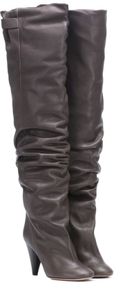 Isabel Marant Lacine leather boots