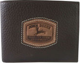 John Deere Leather Passcase Wallet