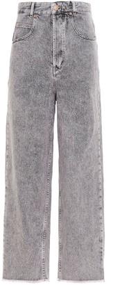 Isabel Marant Etoile Laliskasr Straight Leg Jeans