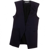 Balmain Navy Silk Jacket