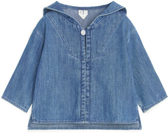 Arket Denim Sailor Top