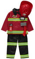 George Fire Officer Fancy Dress Costume