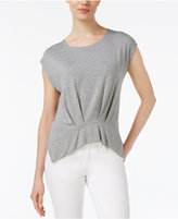 Rachel Roy Pleated T-Shirt, Only at Macy's