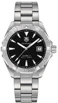 Tag Heuer Aquracer Brushed Steel Automatic Bracelet Watch