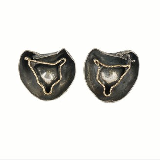 Stavros Constantinou Silver & Gold Earrings 3