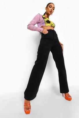 boohoo Wide Leg Jean