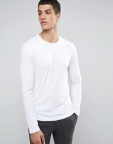 Celio Long Sleeve Top In Slim Fit
