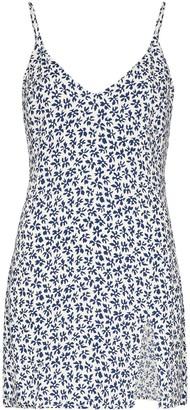 Reformation Marlowe floral-print mini dress