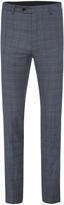 Oxford Marlowe Wool Suit Trousers Blu X