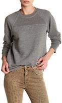 Current/Elliott The Seamed Raglan Sweatshirt