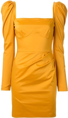 Manning Cartell Australia Structured Shoulder Square Neck Dress