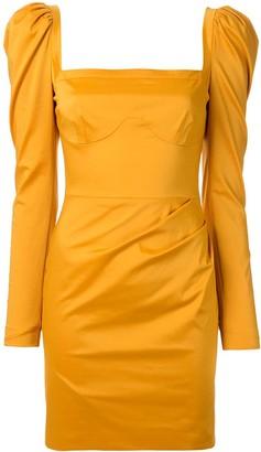 Manning Cartell Australia Structured Shoulder Square Neck Dress