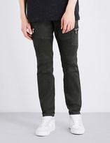 Embellish Holmes biker slim-fit skinny jeans