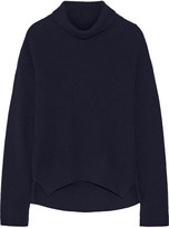Helmut Lang Ribbed wool and cashmere-blend turtleneck sweater