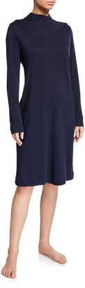 Hanro Luana Long-Sleeve Short Nightgown