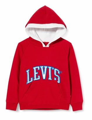 Levi's Kids Lvb Varsity Pullover Sweatshirt Boys Grey Heather 12 Years
