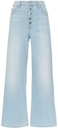 Eve Denim Charlotte button down flared leg jeans