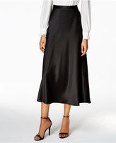 Alex Evenings Taffeta Midi Skirt