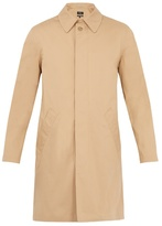 A.P.C. Covent cotton-blend overcoat