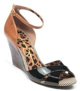 Jessica Simpson Nouta Leather Wedge Sandals